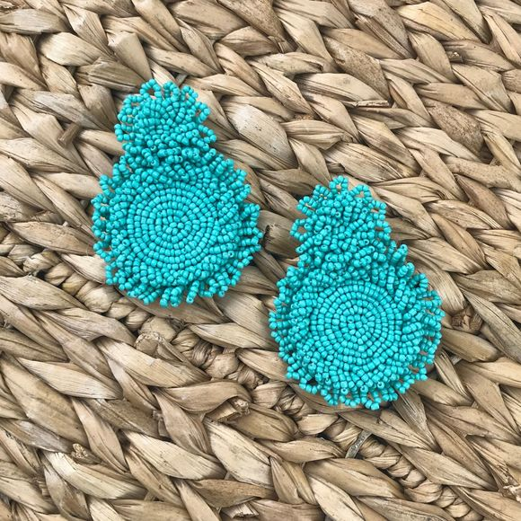 """Boutique Jewelry - 2 for $30 NWT """"Katie"""" Beaded Fringe Earrings"""